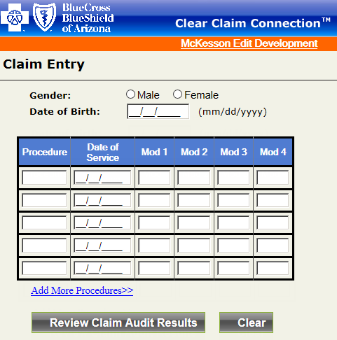 Clear Claim Connection