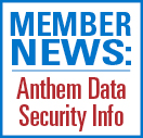 Member news: Anthem data breach