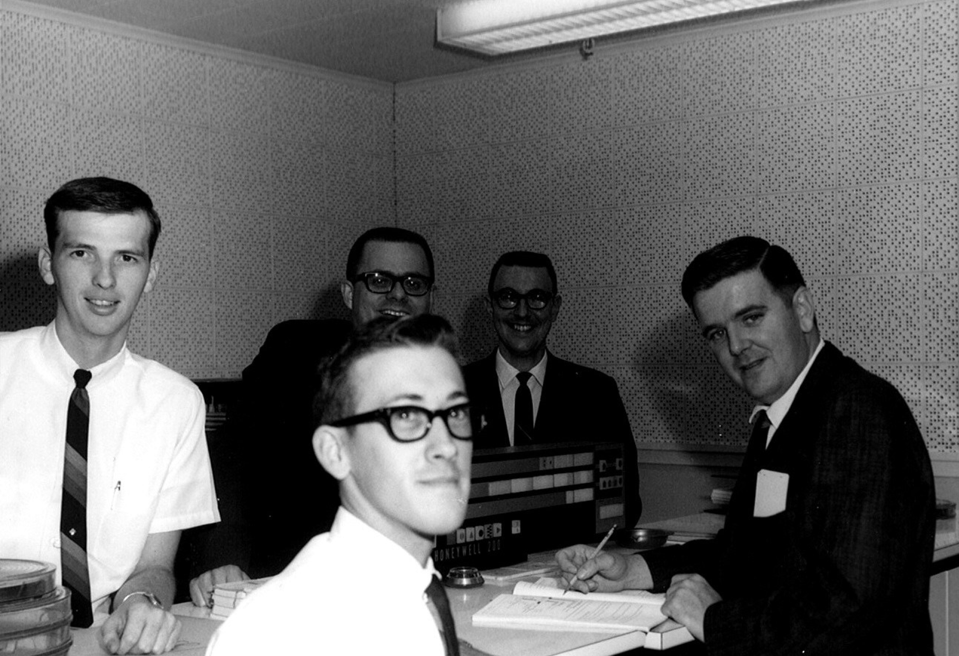 1960s, group of man
