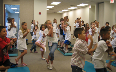 Kids Exercising in the 2000s