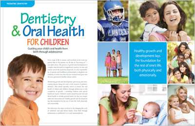 Dentistry and oral health for children