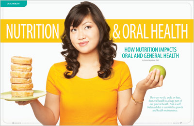 Article on nutrition role in general and oral health