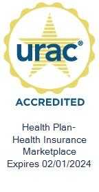 URAC Health Insurance Marketplace Accredited Expires 02/01/2021
