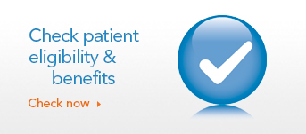 Check patient eligibility and benefits