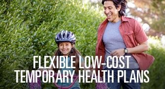 Flexible low-cost temporary health plans